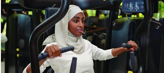 Как мусульманкам посещать фитнес-клуб